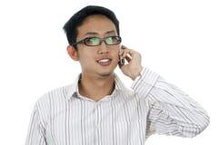 Businessman on phone Stock Photography