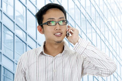 Businessman on phone. Stock Photography
