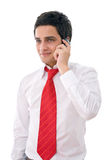 Businessman on the phone Royalty Free Stock Image