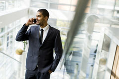 Businessman on a phone Stock Photo