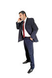 Businessman phoning. Stock Photos