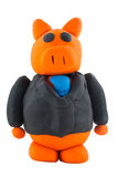 Businessman pig Royalty Free Stock Image
