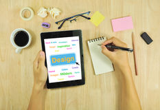 Businessman Planning trend design. Stock Photography