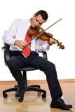 businessman playing στοκ φωτογραφία