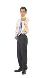 Businessman point Stock Photography