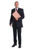 Businessman portfolio Royalty Free Stock Images
