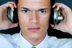 Businessman portrait Stock Photography