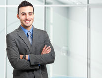 Businessman portrait Stock Image
