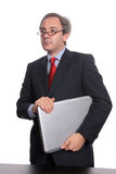 Businessman portrait Stock Photos