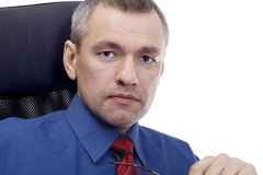 Businessman, portrait Stock Image