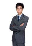 Businessman portrait Stock Images