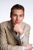 Businessman portrait. Stock Images