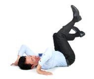 Businessman posing for conceptual photo Stock Photos