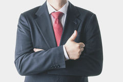 Businessman. Positive businessman with suit and tie Stock Photo