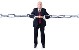 Businessman power Stock Photography