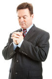 Businessman in Prayer Royalty Free Stock Images