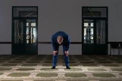 Businessman Prayer At Mosque Royalty Free Stock Photo