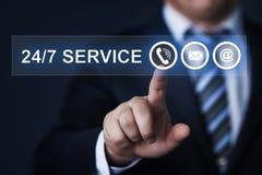 Businessman pressing button virtual screens royalty free stock photo