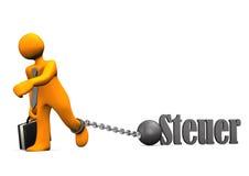 Businessman Prisoner Tax Stock Images