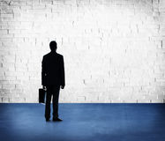 Businessman Professional Occupation Looking Standing Concept Royalty Free Stock Photos