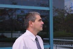 Businessman profile Stock Photo