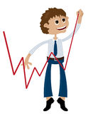 Businessman progression Stock Photo