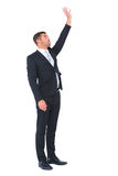 Businessman put his hand up Royalty Free Stock Image
