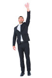 Businessman put his hand up Royalty Free Stock Photography