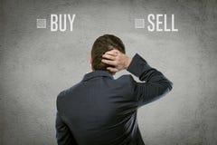 Businessman question Stock Photos