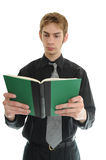 Businessman Reading Stock Photography