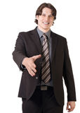 Businessman ready to make a deal Stock Photo