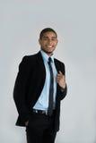 Businessman ready to shake hand Royalty Free Stock Photo