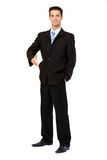 Businessman ready to shake hands Royalty Free Stock Images