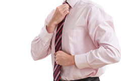 Businessman ready to work Stock Image
