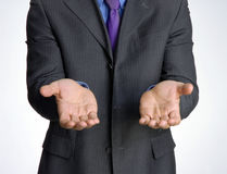 Businessman. Request attitude businessman hand,shaking hand royalty free stock photo