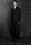 Businessman - Retro Style Royalty Free Stock Image
