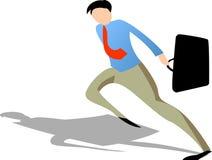 Businessman running Stock Photography