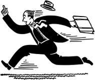 Businessman Running Royalty Free Stock Photos