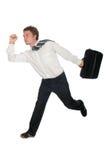 Businessman Running Stock Photos