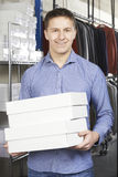Businessman Running On Line Fashion Business Royalty Free Stock Photos