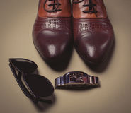 Businessman's accessories Stock Photography