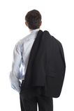 Businessman's Back Stock Images