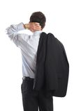 Businessman's Back Royalty Free Stock Image