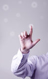 Businessman's hand Royalty Free Stock Images