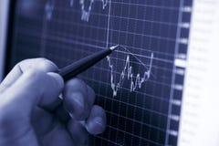 Businessman's hand Stock Image