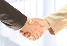 Businessman's hand shaking Royalty Free Stock Photo