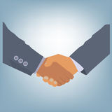 Businessman's hand shaking Royalty Free Stock Photography