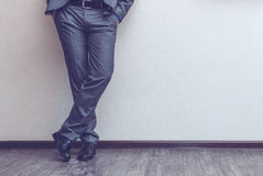 Businessman's legs Royalty Free Stock Photo