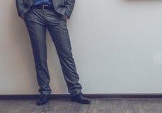 Businessman's legs Stock Photography