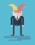Businessman_sad_buffoon Stock Photos